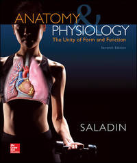 Anatomy & Physiology: The Unity of Form and Function (Standalone Book) by  Kenneth Saladin - Hardcover - 2014-01-07 - from Universal Textbook (SKU: PART003338)