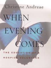 When Eventing Comes: the Education of a Hospice Volunteer
