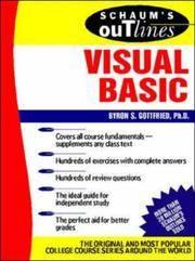 Schaum's Outline of Visual Basic