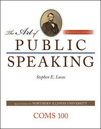 image of Art of Public Speaking - AIE by Stephen E Lucas (2012-05-03)