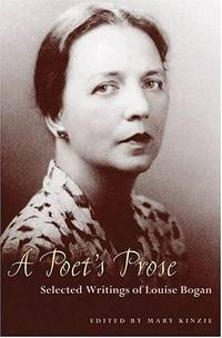 image of Poets Prose: Selected Writings Of Louise Bogan