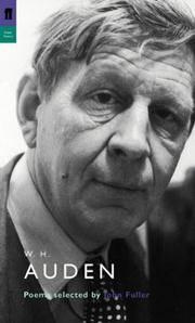 W. H. Auden : Selected by John Fuller