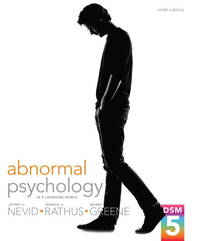 Abnormal Psychology in a Changing World (9th Edition)