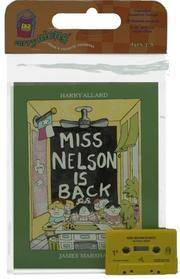 image of Miss Nelson Is Back (Book_Cassette Favorites)