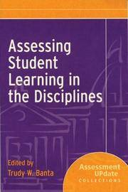 Assessing Student Learning in the Disciplines: Assessment Update Collections
