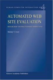 Automated Web Site Evaluation