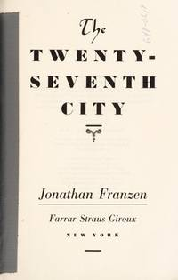 The Twenty-Seventh City   (Signed)