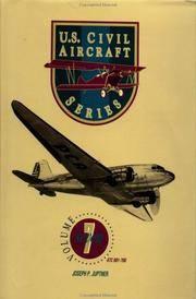 U.S. Civil Aircraft Series, Vol. 7 (ATC 601 - Atc 700)