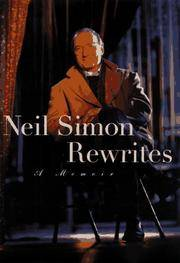 NEIL SIMON REWRITES: A MEMOIR