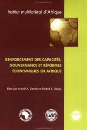 Capacity Building, Governance and Economic Reform in Africa