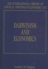Darwinism And Economics (International Library of Critical Writings in Economics)