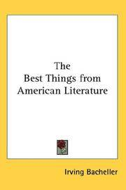 Best Things From American Literature