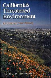CaliforniaÕs Threatened Environment