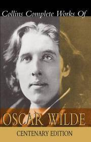 Collins Complete Works of Oscar Wilde by Wilde, Oscar