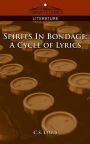 image of Spirits in Bondage: A Cycle of Lyrics (Cosimo Classics Literature)