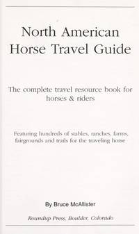 North American Horse Travel Guide