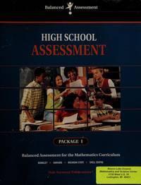 Advanced High School Assessment (Balanced Assessment, Package 1)