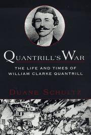 image of Quantrill's War: The Life_Times Of William Clarke Quantrill, 1837-1865