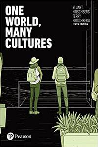 image of One World, Many Cultures, Paperback, 10th edition.