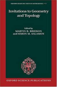 Invitations to Geometry and Topology.