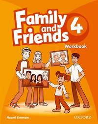Family And Friends: 4: Workbook - Used Books