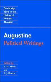 image of Augustine: Political Writings (Cambridge Texts in the History of Political Thought)