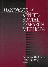 Handbook of Applied Social Research Methods
