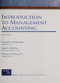 image of Introduction to Management Accounting : Chapters 1-15