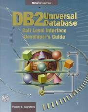 DB2 Universal Database Call-Level Interface (Cli) Developer's Guide: Call Level Interface Cli...