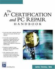 The A+ Certification & PC Repair Handbook (Networking Series)