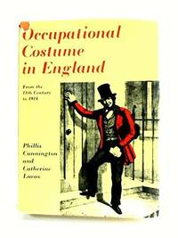 Occupational Costume in England from the Eleventh Century to 1914 - w/ Dust Jacket!