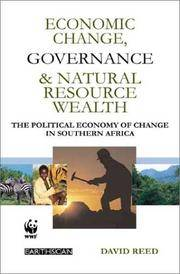 Economic Change Governance and Natural Resource Wealth: The Political Economy of Change in...