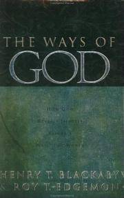The Ways of God: Working Through Us to Reveal Himself to a Watching World by  HENRY T. BLACKABY ROY T. EDGEMON - Hardcover - 2000 - from Hizbooks and Biblio.com