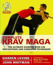 Complete Krav Maga by Darren Levine; John Whitman - Paperback - 2nd Printing - 2007 - from after-words bookstore and Biblio.com
