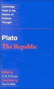 image of Plato: The Republic (Cambridge Texts in the History of Political Thought)