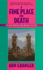 image of A Fine Place For Death