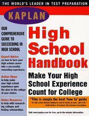 KAPLAN HIGH SCHOOL HANDBOOK