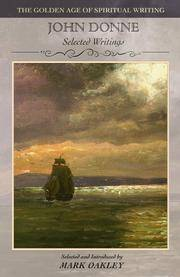 John Donne: Verse and Prose (The Golden Age of Spiritual Writing)