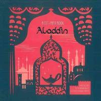 ALADDIN - From The Tales of The Arabian Nights.[A CUT-PAPER BOOK.]