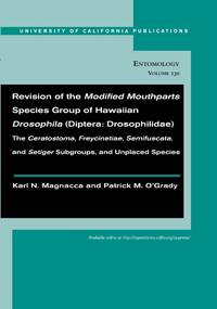 Revision of the Modified Mouthparts Species Group of Hawaiian Drosophila (Diptera:  Drosophilidae):