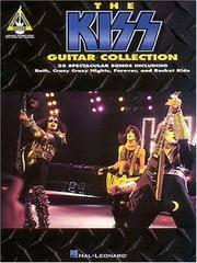 KISS -- Guitar Collection: Guitar Tablature