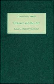 Chaucer and the City (Chaucer Studies)