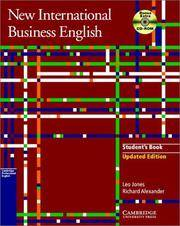 image of New International Business English: Student`s Book with Bonus Extra BEC Vantage Preparation CD-ROM