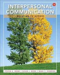 image of Interpersonal Communication: Relating to Others (7th Edition)