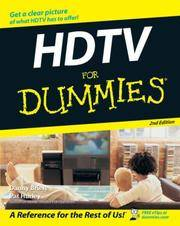 HDTV For Dummies