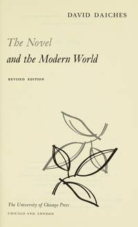 The Novel and The Modern World