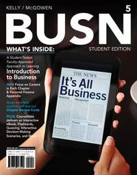 BUSN 5, Student Edition, 5th Edition