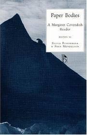 Paper Bodies: A Margaret Cavendish Reader