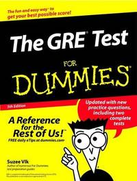 The GRE® Test for Dummies®