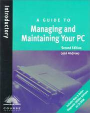 image of A Guide to Managing and Maintaining Your PC